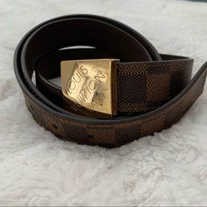 Louis Vuitton Damier Belt size 100
